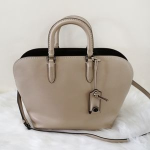 Coach Beige 1941 Glovetanned Dakotah Satchel Purse